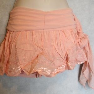 Skirts - NWT Coral Ruffle Mini Skirt Size L